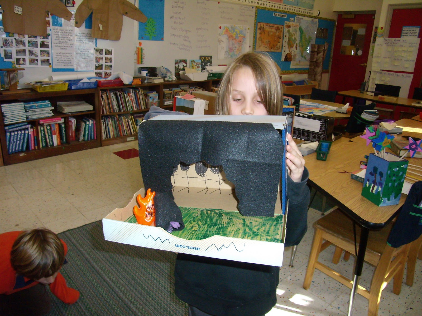 3rd Grade Diorama About NASA (page 4) - Pics about space