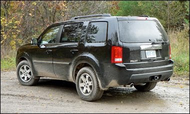 off road capability of honda pilot