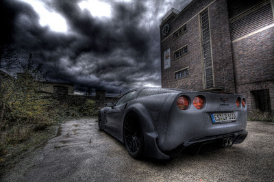 formerly The Honda Portal: Corvette C6 BlackforceOne, by German