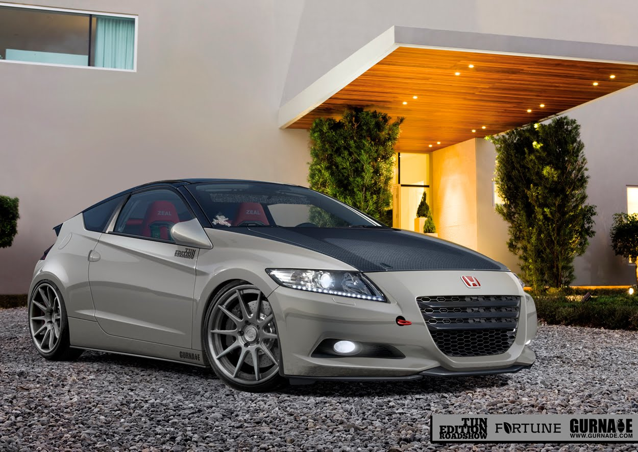 It S Time For The Tuning Aficionados Over At Fortune Motorsports To Give Us Our First Look Their Customized Honda Cr Z That Will Be Officially Revealed