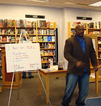 Speaking at Borders Book Stores