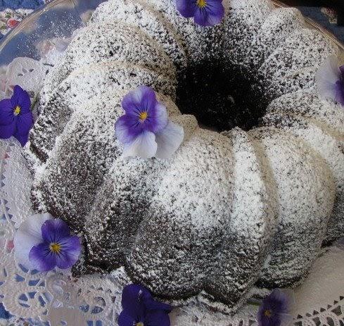 Nick Malgieri Chocolate Sour Cream Cake