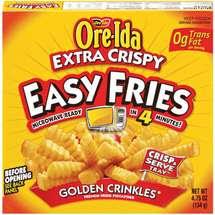 Ore Ida Extra Crispy Easy Microwavable