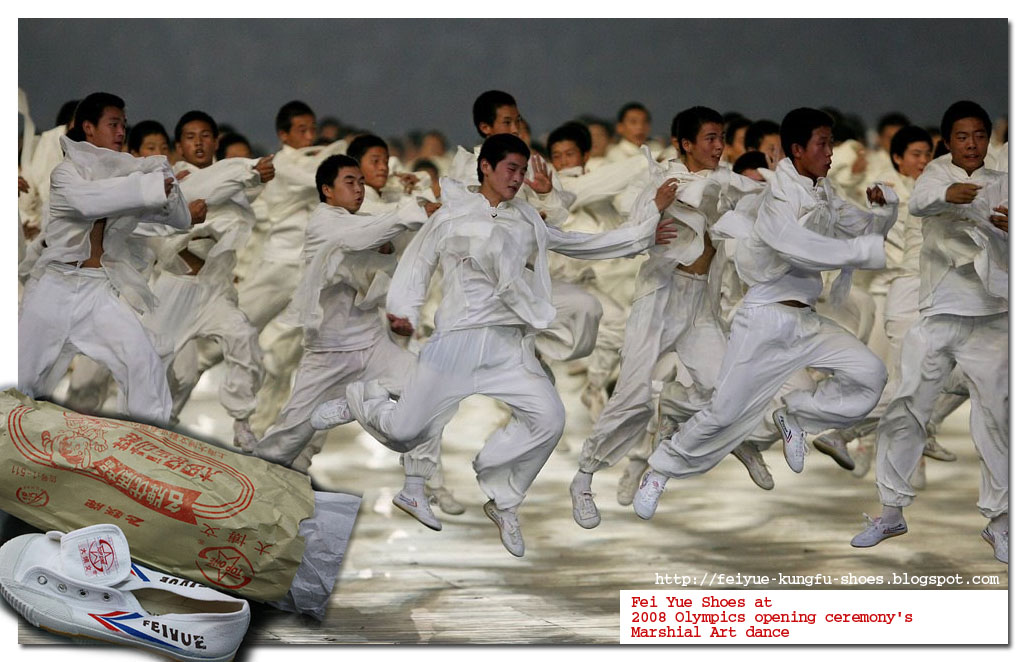 Feiyue Martial Artist