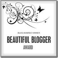 Beautiful blogger awards,Award blog tercantik