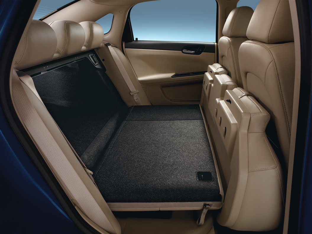 Chevrolet Impala Information Flip And Fold Flat Seats In