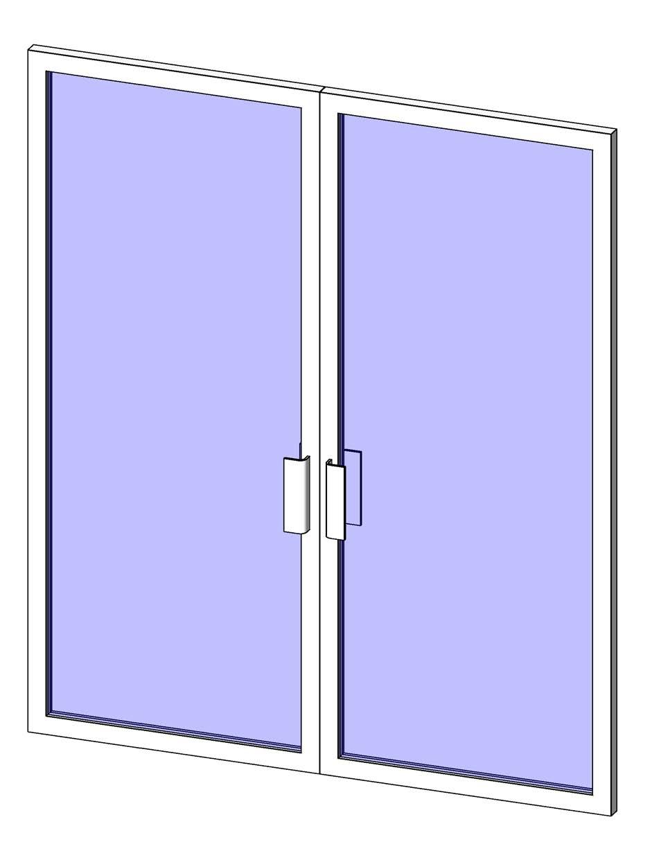 6 1 2 Sips Curtain Wall : Curtain wall sliding door revit family glif