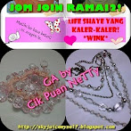 @15 jan : GIVEAWAY BY CIK PUAN NETTY