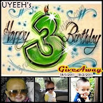 @18 feb : Uyeeh's 3rd Birthday Giveaway !!!