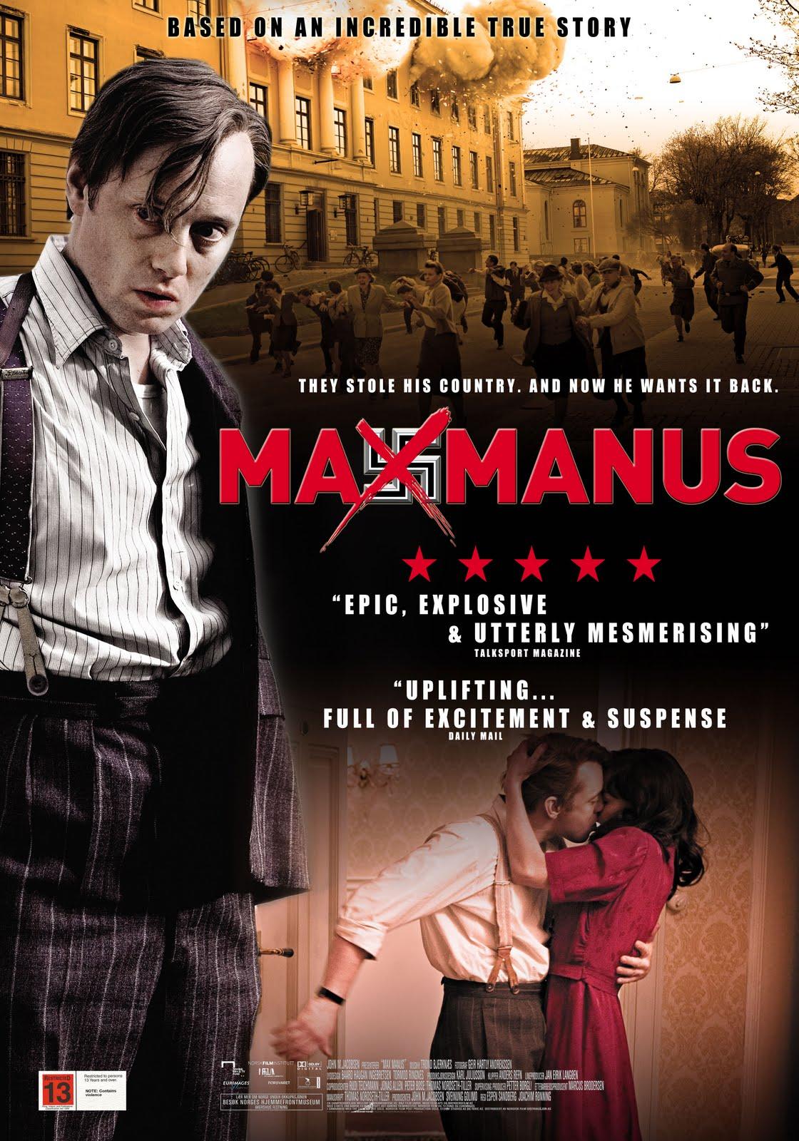 max manus trailer movie max manus new posters