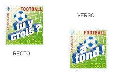 Blog philat lie premier timbre recto et verso coupe du monde de football 2010 - 1er coupe du monde de football ...