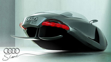 Audi Shark Concept A Flying Car With Bite Mark S