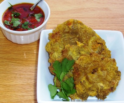 Celebrating Latin Food Colombian Patacones Quot Fried Green
