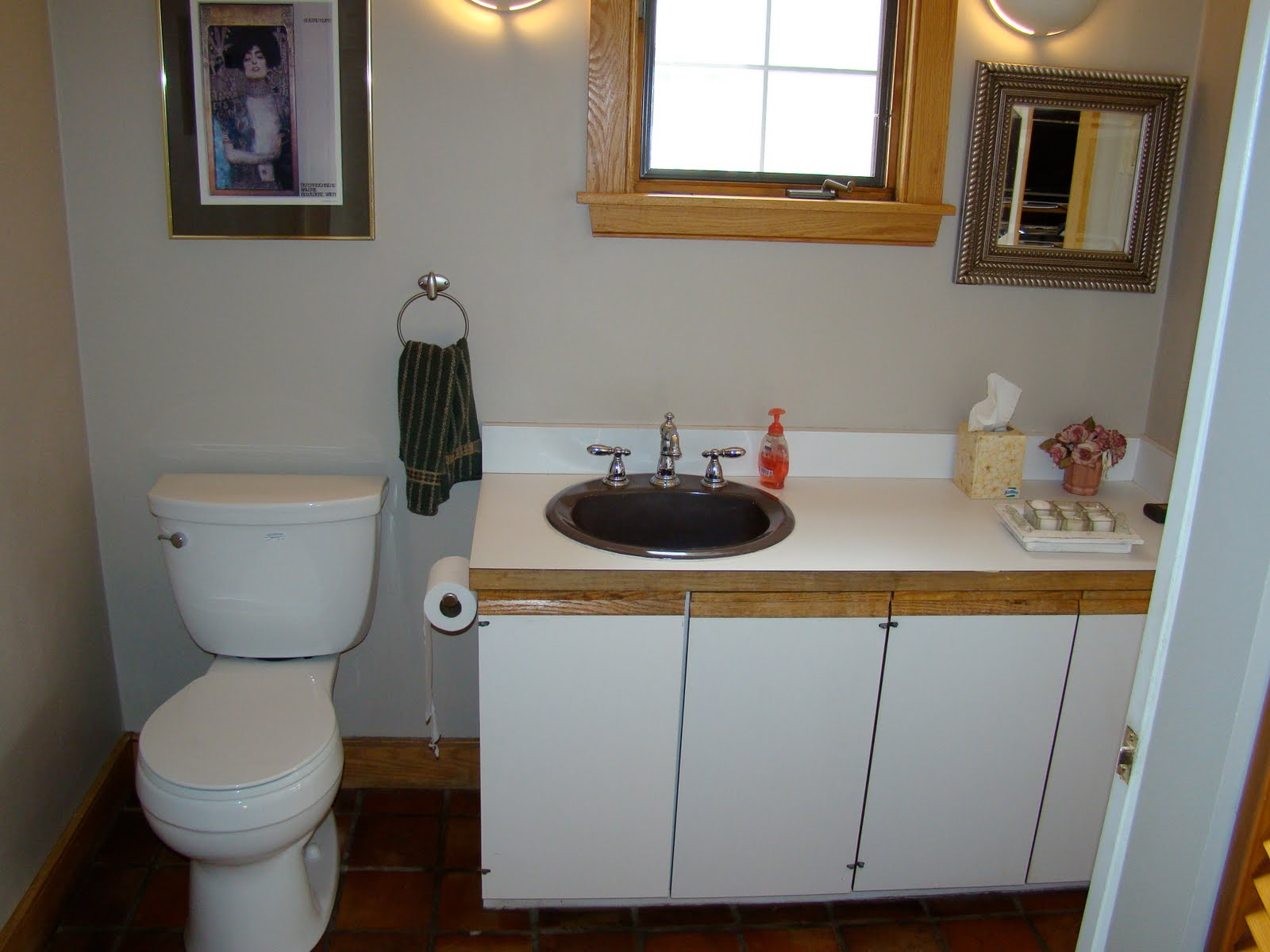 Well-liked view from my heels: Laundry/Half Bath Makeover HJ83