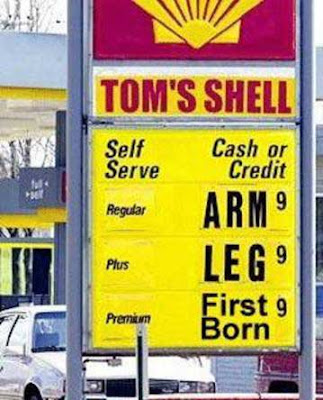high gas prices funny. about high gas prices at