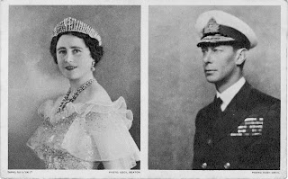 Her Majesty Queen Elizabeth and King George VI - Click to enlarge