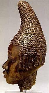 regina oba in bronzo, Edo