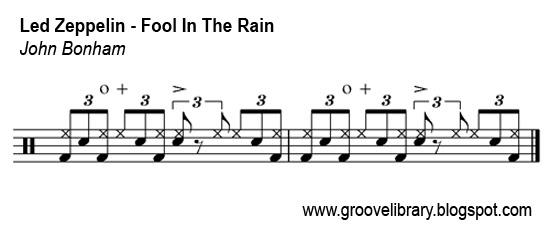 Drum drum tabs led zeppelin : Groove Library - The World's Hippest Drum Grooves: Led Zeppelin ...