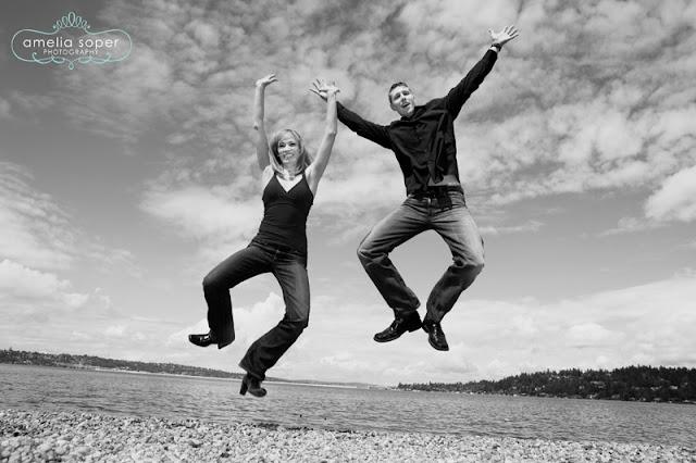 Stephanie + Mike | Kick Up Your Heels!