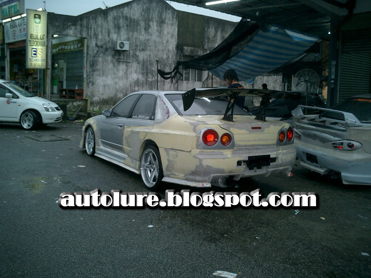 CONVERTION Cefiro Skyline R34