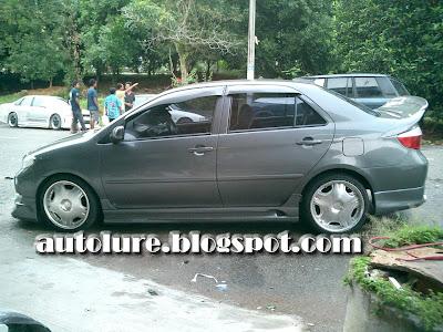 Autolure Toyota Vios Stylish Grey