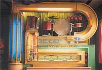 Decap organ in Café Beveren