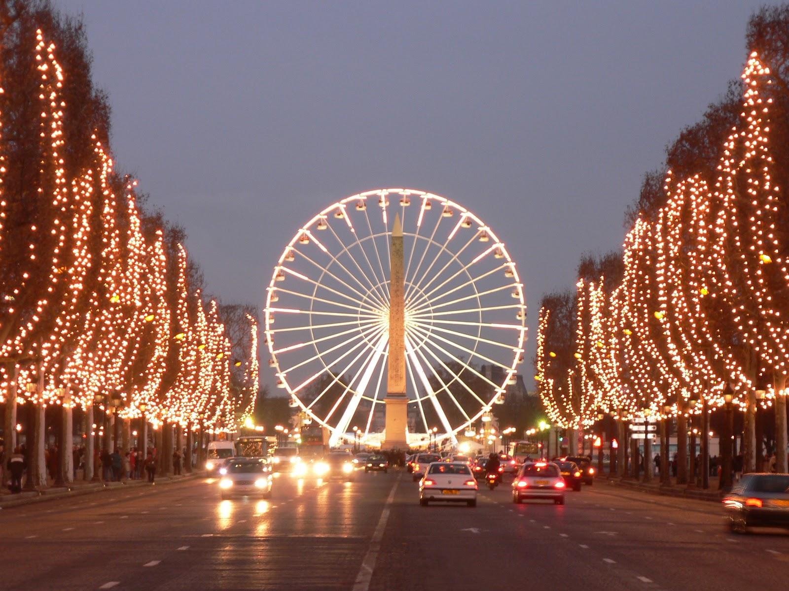 Paris Weihnachtsmarkt.Paris 2010 2011 Weihnachtsmarkt Auf Der Champs élysées