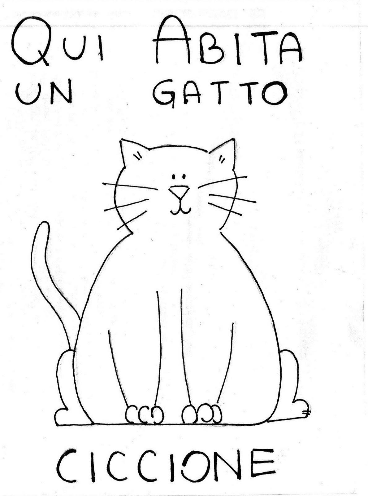 Ispirazione Disegni Da Colorare Animali Gatti Auto Electrical