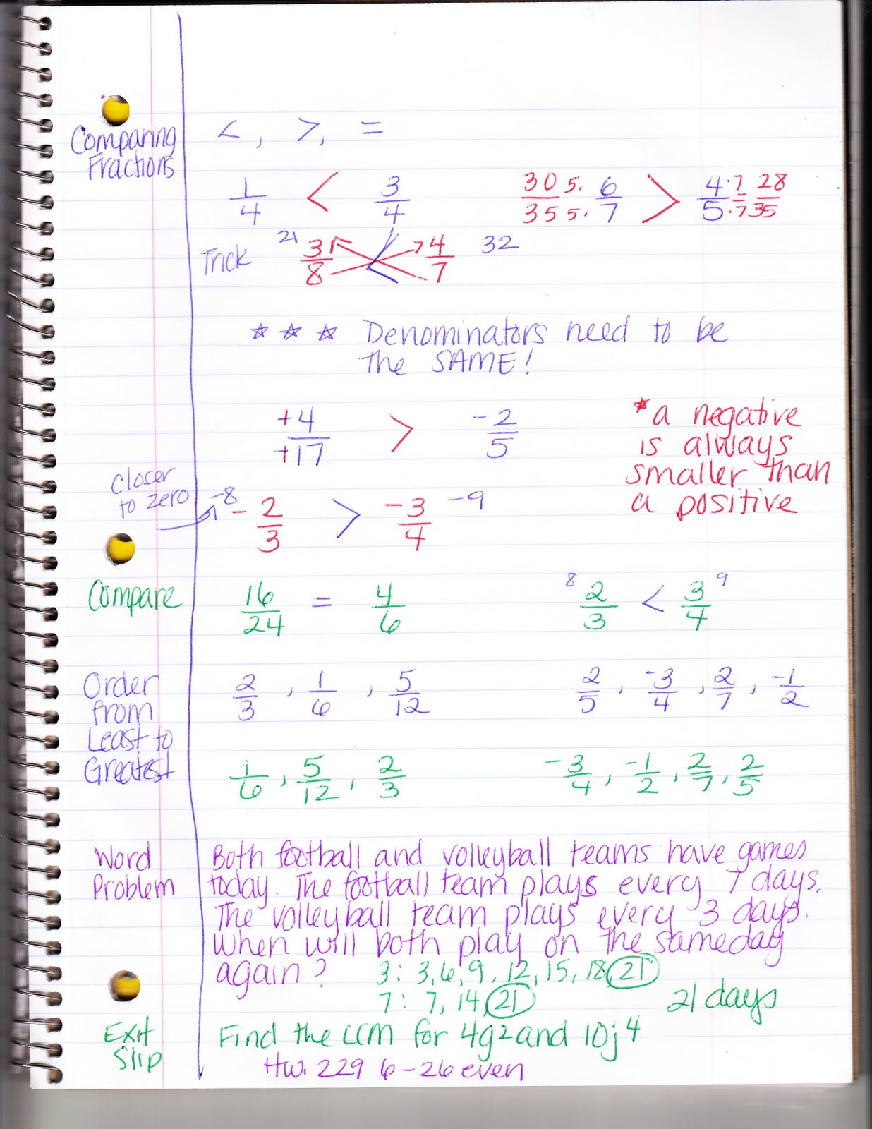Ms Jean S Classroom Blog 5 1 Comparing And Ordering