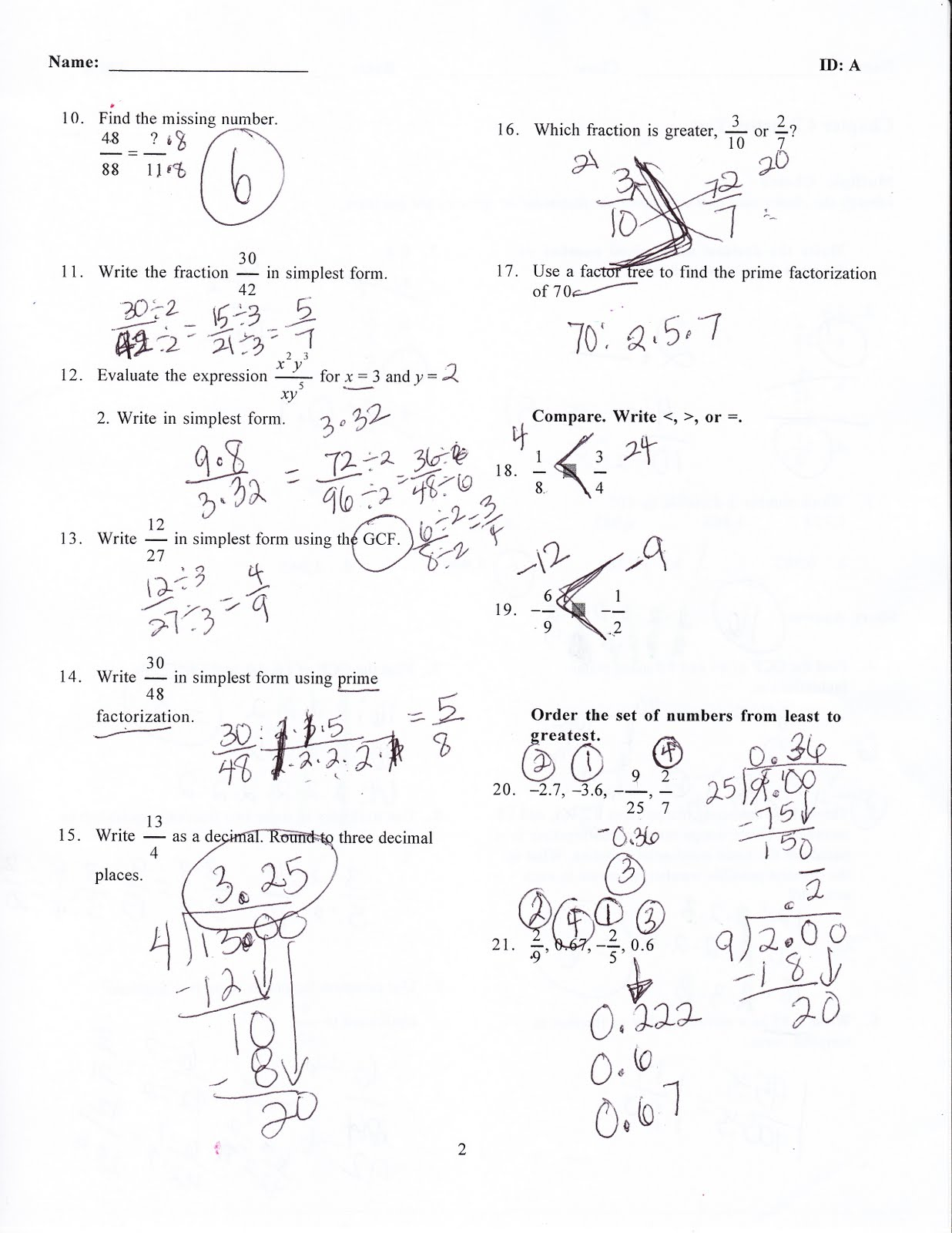88 As A Fraction In Simplest Form