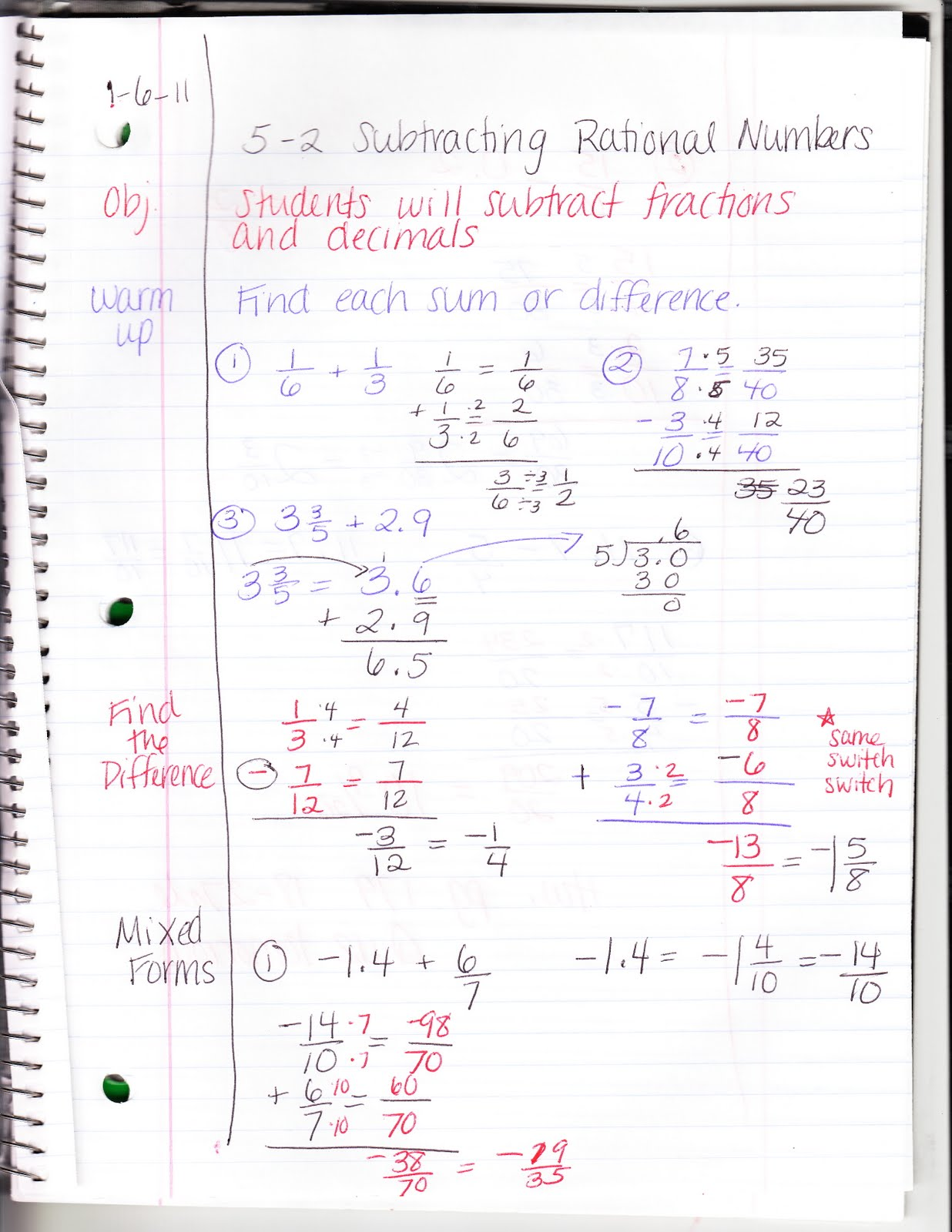 Ms Jean S Algebra Readiness Blog 5 2 Subtracting