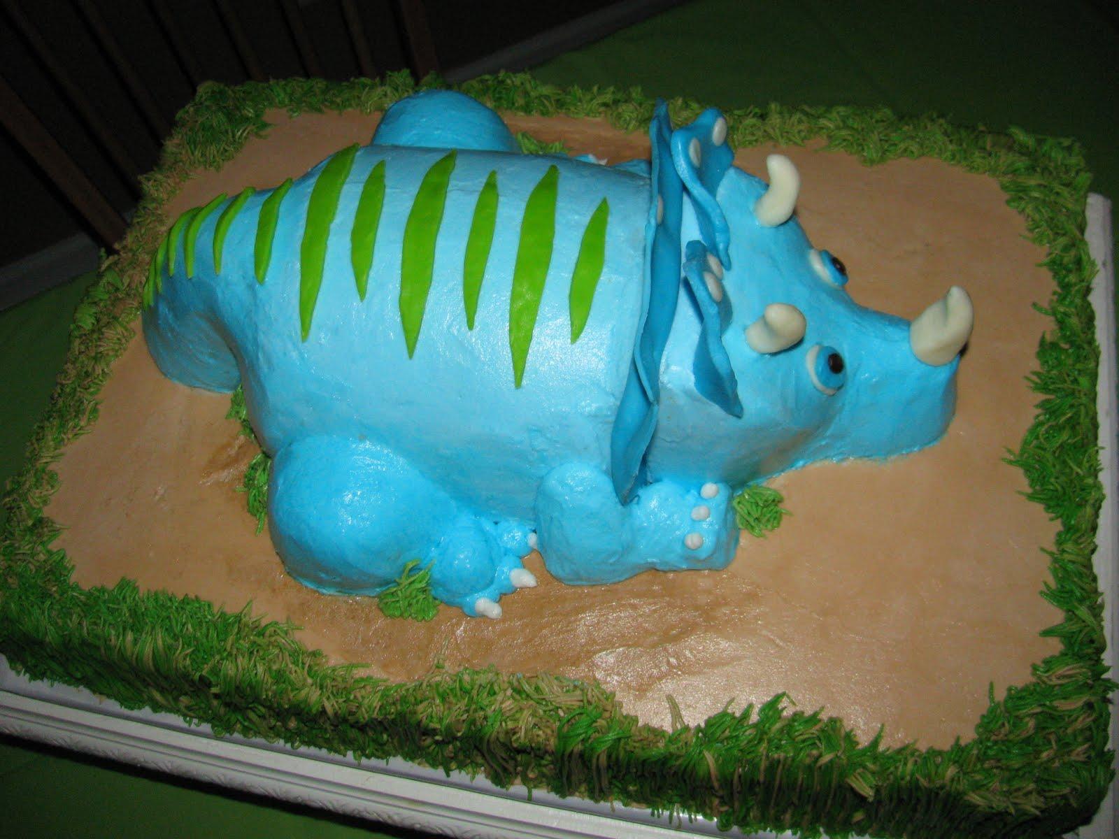 The Dessert Box Carson S Dinosaur Cake