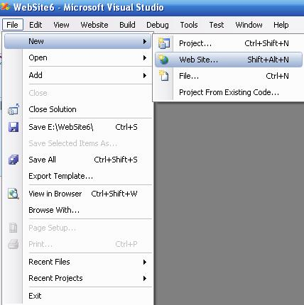 Asp Net Learning Guide: How to Create an ASP NET Website