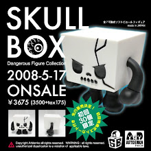 SKULLBOX vinyl toy