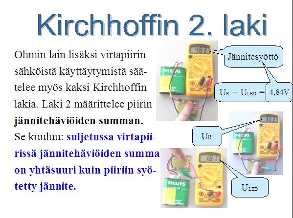 Kirchhoffin 1 Laki
