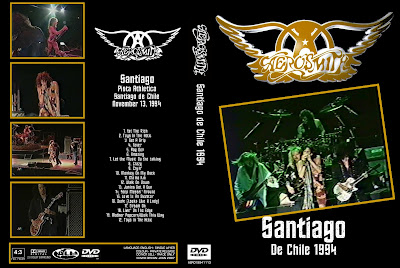 D Amp P S Bootleg Tunz World Aerosmith Live In Santiago 1994