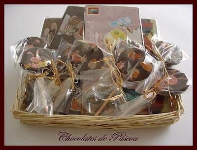 Pâques en gourmandise Chocolates+pascoa