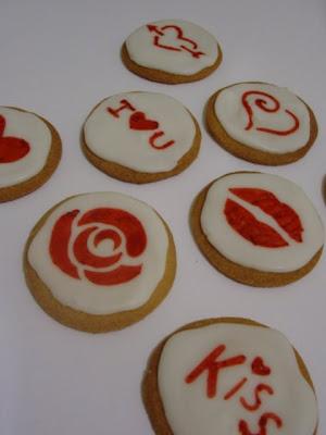 Biscuits, macarons, muffins et cupcakes de Saint Valentin DSC06718