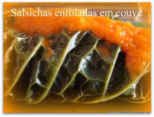 SALCHICHAS ENROLLADAS EN COL / SALSICHAS ENROLADAS EM COUVE