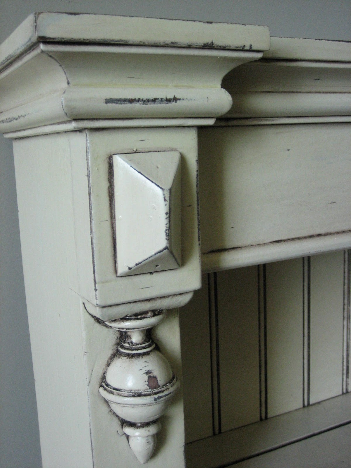 European Paint Finishes Shabby French Wall Shelves