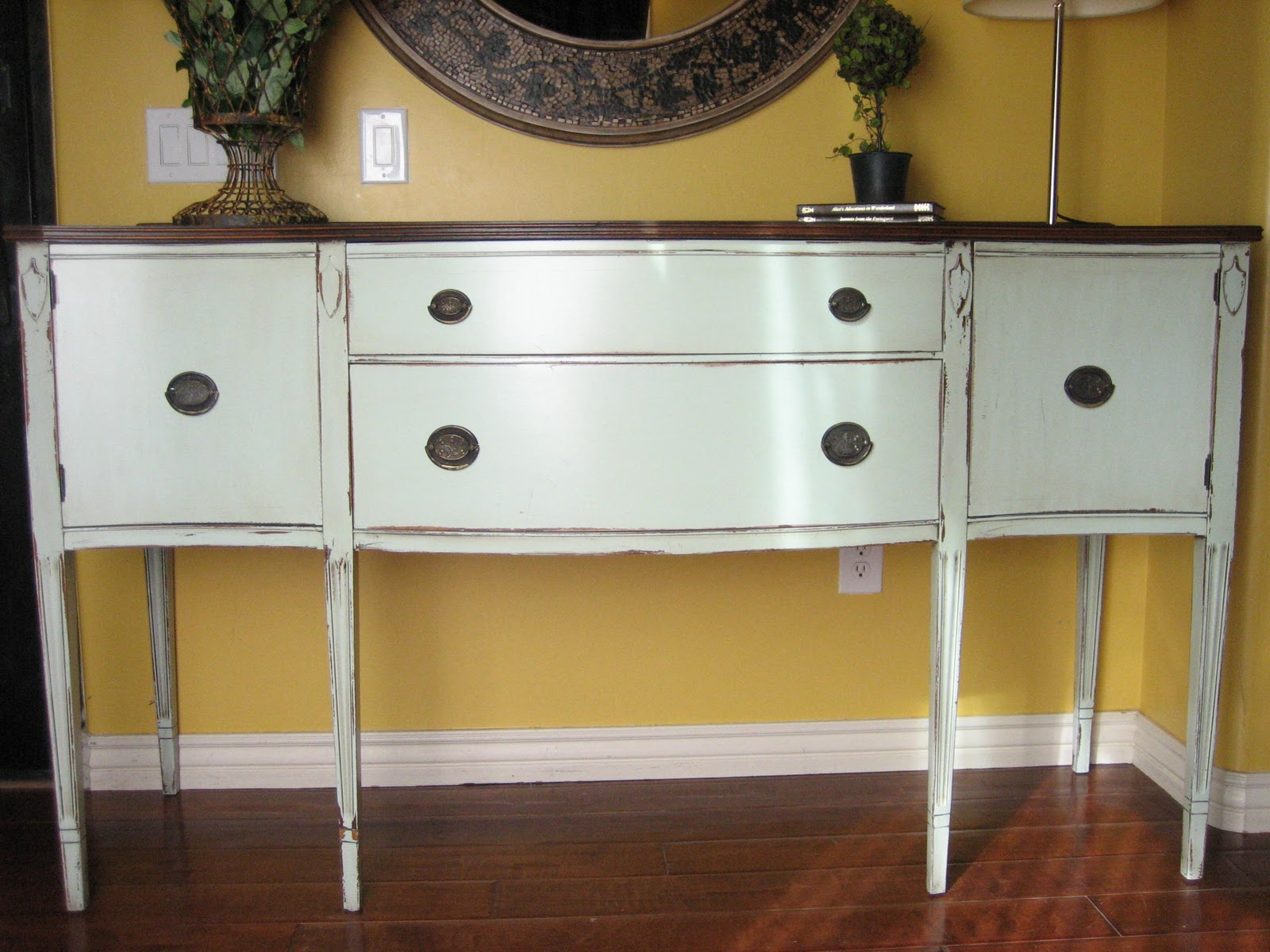 European Paint Finishes ~ European Classic Vintage Sideboard