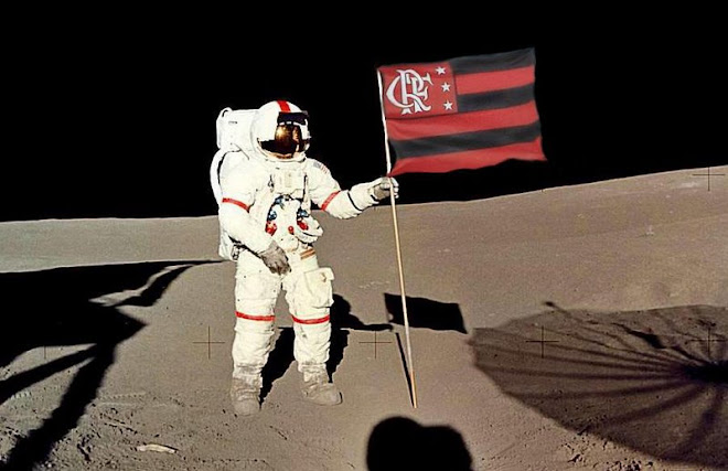 Flamengo landed in the moon