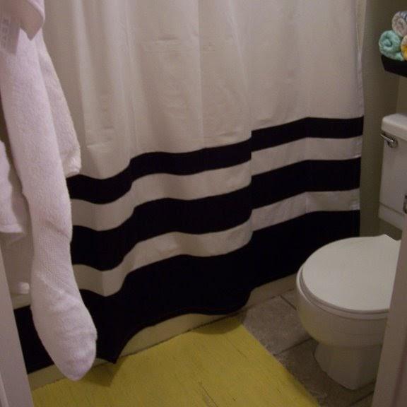 Black White Yellow Bathroom: {BLACK. WHITE. YELLOW.}: Black, White, And Yellow