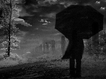 Resultado de imagem para mulher à chuva