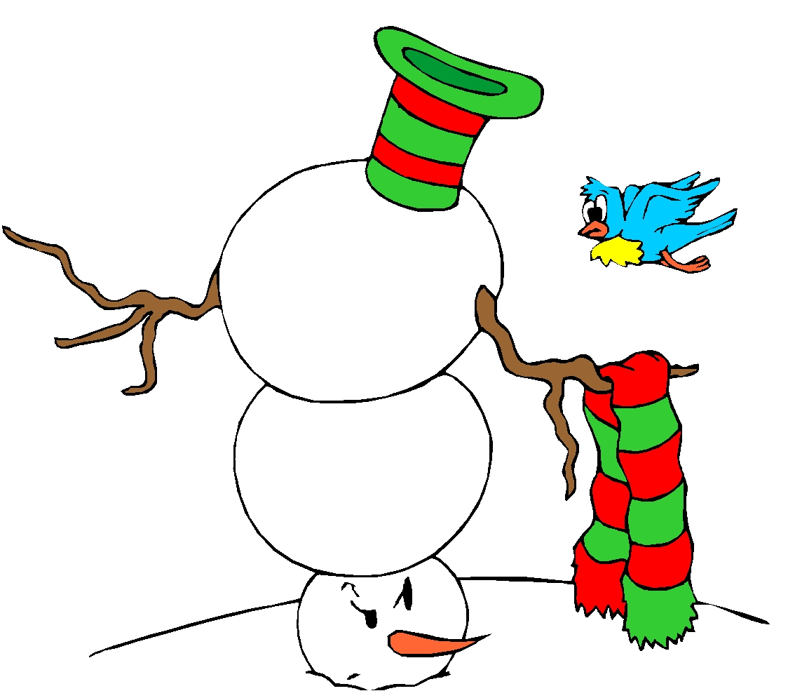 Snow Lady Clipart