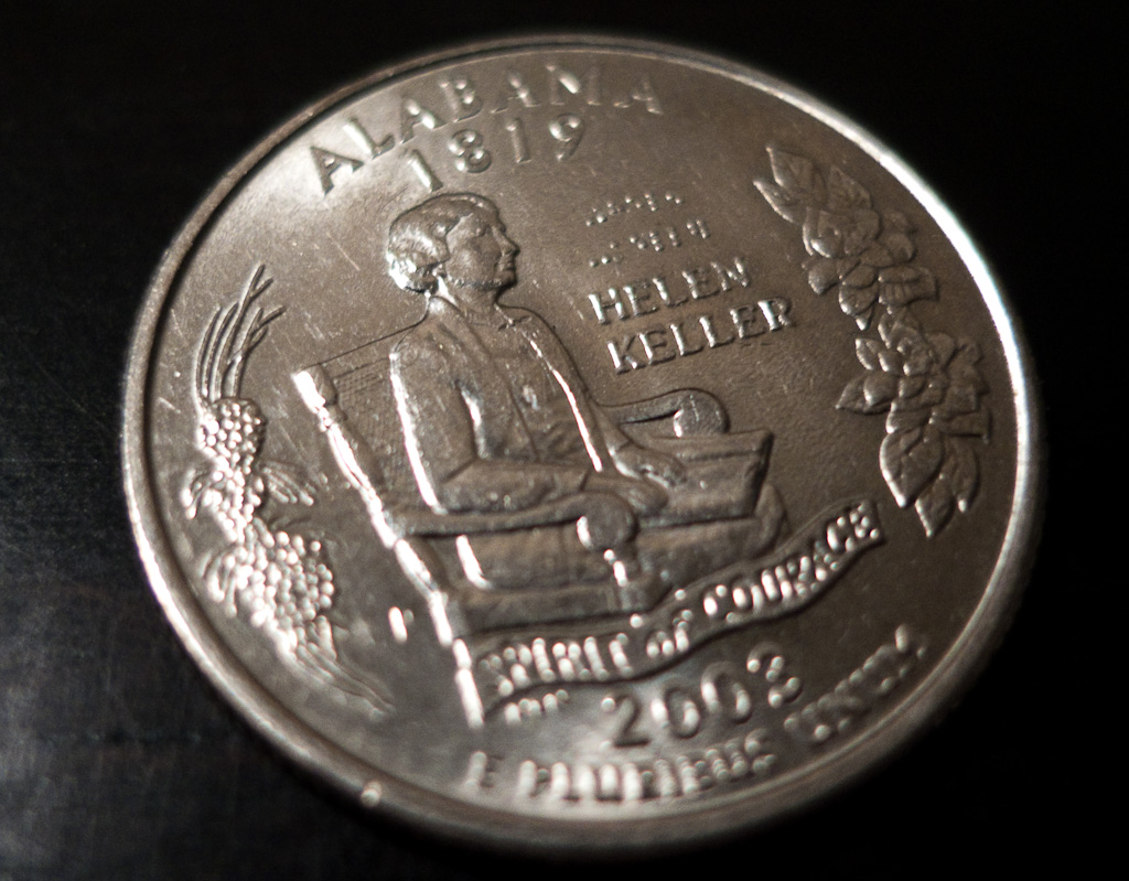 Lost in Translation: The Art of Money (Braille on Quarter)