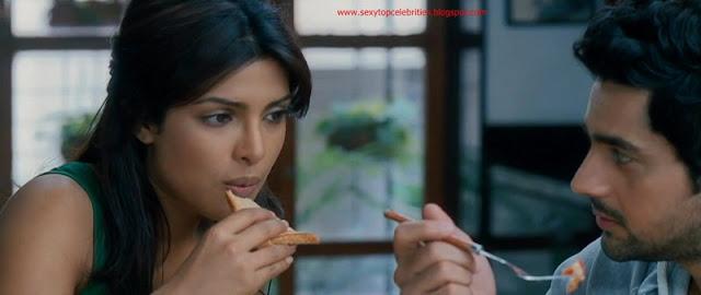 Sexy Top Celebrities Priyanka Chopra Hot Make Love Scene -6556