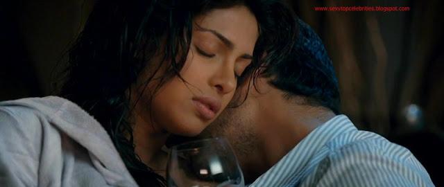 Sexy Top Celebrities Priyanka Chopra Hot Bed Scene - Fashion-5728