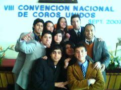 VIII convención de coros unidos