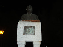 Busto del poeta juan antonio ramirez